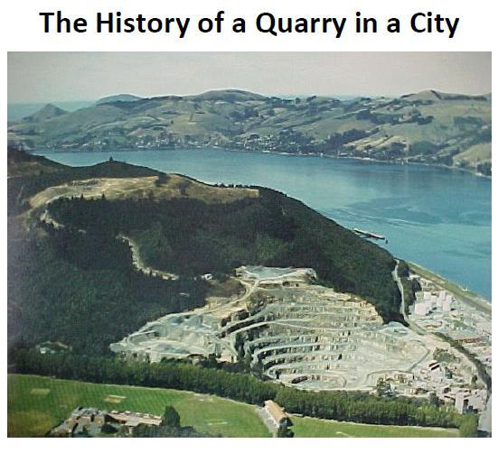 History 0f a Quarry in a City